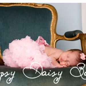 OOPSY DAISY BABY- Pink Pettiskirt size 0-6 month